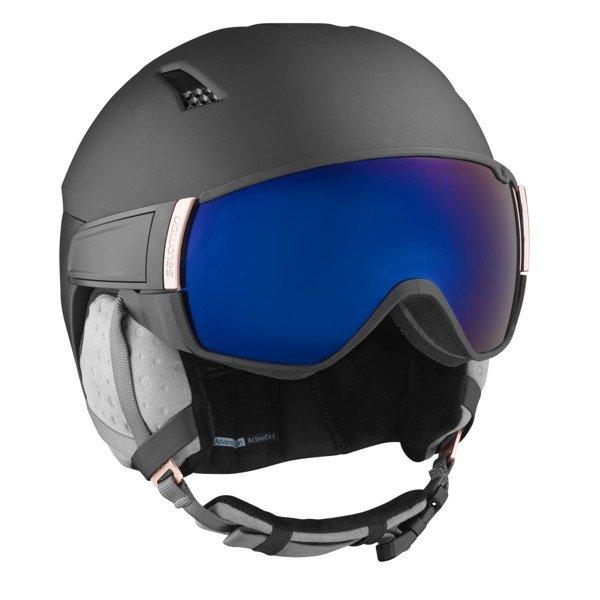 Kaski narciarskie Salomon Mirage S Czarny S (53 56