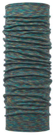 BUFF MERINO WOOL BLUE MULTI