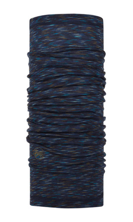BUFF MERINO WOOL LIGHTWEIGHT DENIM MULTI STRIPES