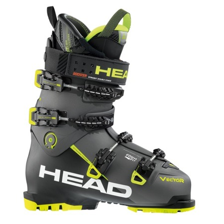BUTY NARCIARSKIE HEAD 17/18 VECTOR EVO 130S Anthracite - Black - Yellow
