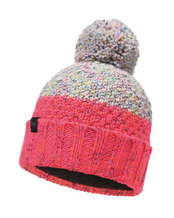 CZAPKA BUFF KNITTED & BAND POLAR HAT JANNA Cloud