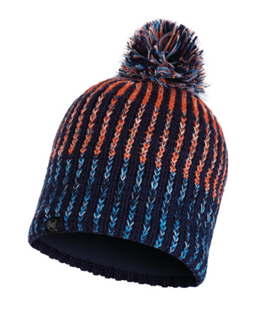 CZAPKA BUFF KNITTED & BAND POLAR HAT MEDIEVAL BLUE