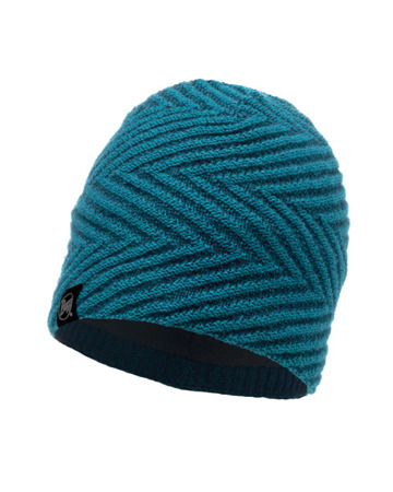 CZAPKA BUFF KNITTED & BAND POLAR HAT SILJA DEEP TEAL