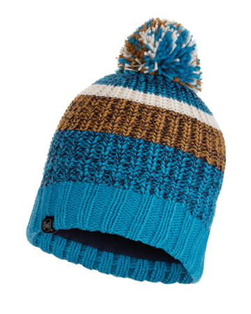 CZAPKA BUFF KNITTED & BAND POLAR HAT STIG TEAL BLUE
