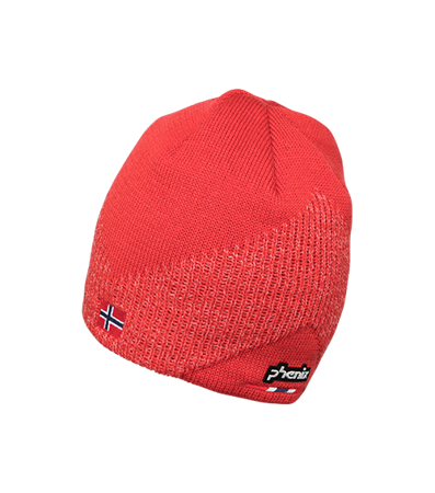 CZAPKA PHENIX 18/19 NORWAY ALPINE TEAM BEANIE EF878HW00 Red