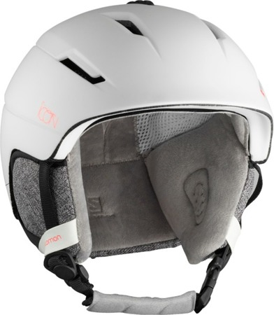 DAMSKI KASK NARCIARSKI SALOMON 18/19 ICON2 M White Pop