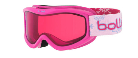 GOGLE JUNIORSKIE BOLLE 16/17 AMP Pink Snow / Vermillon