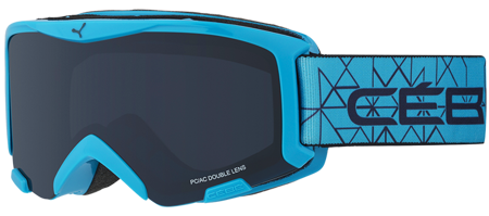 GOGLE JUNIORSKIE CEBE 16/17 BIONIC Cyan / Grey