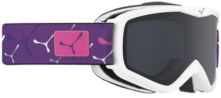 GOGLE JUNIORSKIE CEBE 16/17 TELEPORTER White - Violet / Grey