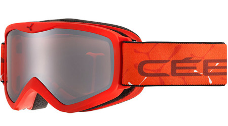 GOGLE JUNIORSKIE CEBE 18/19 TELEPORTER Red-Orange / Orange
