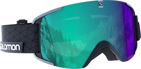 GOGLE SALOMON 17/18 XVIEW PHOTO Black/All Weather Blue
