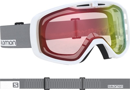 GOGLE SALOMON 18/19 AKSIUM PHOTO White