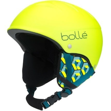 JUNIORSKI KASK BOLLE 18/19 B-FREE Soft Neon Yellow Block
