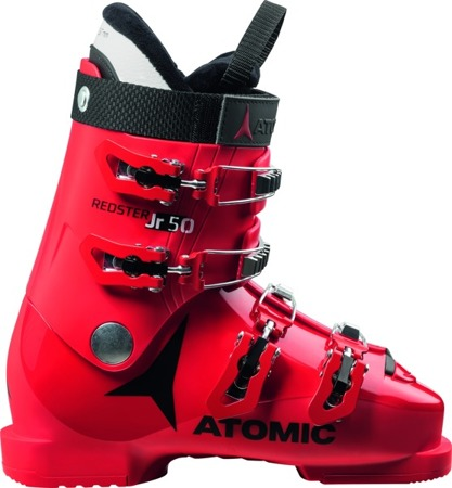 JUNIORSKIE BUTY NARCIARSKIE ATOMIC 17/18 REDSTER JR 50 Red/Black