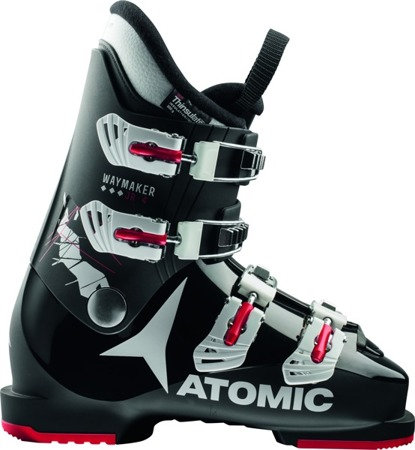 JUNIORSKIE BUTY NARCIARSKIE ATOMIC 17/18 WAYMAKER JR 4 Black/White/Red