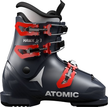 JUNIORSKIE BUTY NARCIARSKIE ATOMIC 18/19 HAWX JR 3 Dark Blue/Red