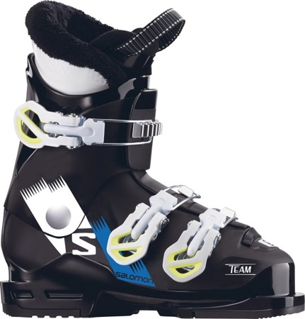 JUNIORSKIE BUTY NARCIARSKIE SALOMON 17/18 TEAM T3 Black/White/Acid Green