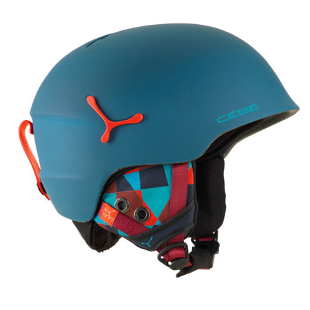 KASK JUNIORSKI CEBE 16/17 SUSPENSE DELUXE Matt Blue Graphics