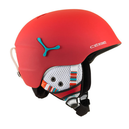 KASK JUNIORSKI CEBE 16/17 SUSPENSE DELUXE Matt Red