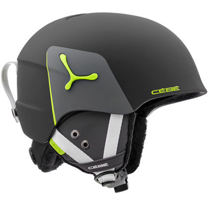 KASK JUNIORSKI CEBE 18/19 SUSPENSE DELUXE Black-Lime