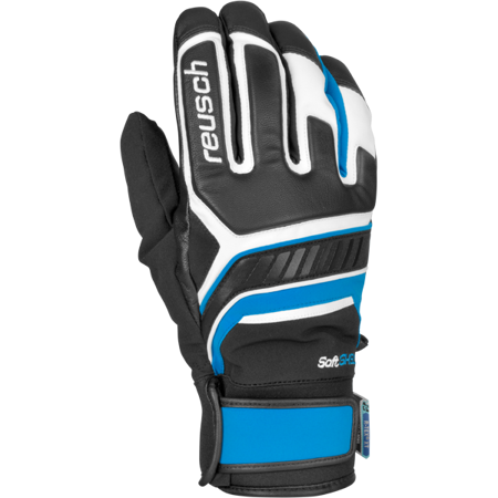 RĘKAWICE REUSCH THUNDER R-TEX® XT White - Brilliant Blue 46/01/216/148